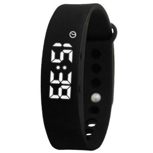 Relógio Masculino Skmei Pedômetro Smart Digital W05 Preto
