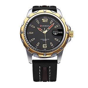 Relógio Curren Analógico 8104 Preto