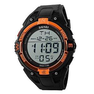 Relógio Masculino Skmei Digital 1140 - Preto e Laranja