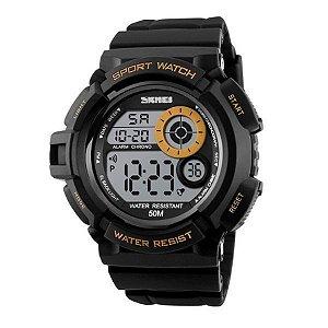 6859a3fb1b0 Relógio Feminino Skmei Digital 1252 Dourado - ShopDesconto - Aqui ...