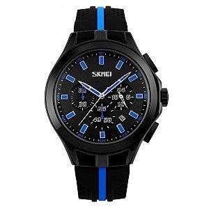 Relógio Masculino Skmei Analógico 9135 Azul
