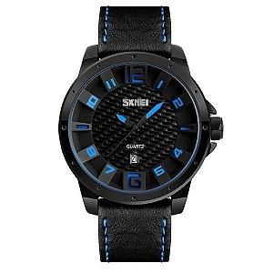 Relógio Masculino Skmei Analógico 9150 Azul