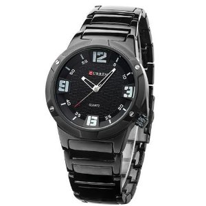 Relógio Curren Analógico 8111 Preto