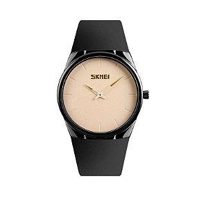 Relógio Masculino Skmei Analógico 1601S Bege