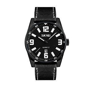 Relógio Masculino Skmei Analógico 9137 Branco