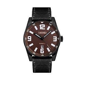 Relógio Masculino Skmei Analógico 9137 Marrom