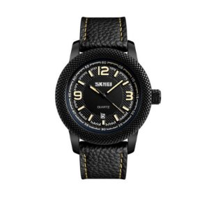 Relógio Masculino Skmei Analógico 9138 Bege
