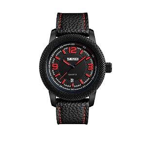 Relógio Masculino Skmei Analógico 9138 Vermelho