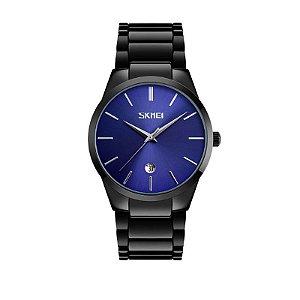 Relógio Masculino Skmei Analógico 9140 Azul