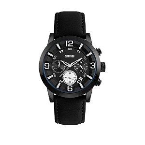 Relógio Masculino Skmei Analógico 9147 Branco
