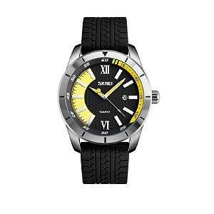 Relógio Masculino Skmei Analógico 9151 Amarelo