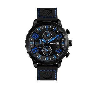 Relógio Masculino Skmei Analógico 9153 Azul