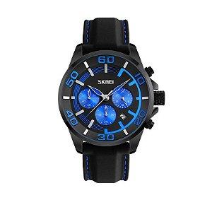Relógio Masculino Skmei Analógico 9154 Azul