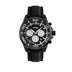 Relógio Masculino Skmei Analógico 9154 Branco