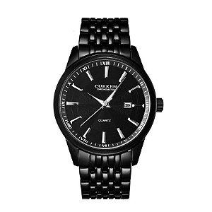 Relógio Masculino Curren Analógico 8052 Preto