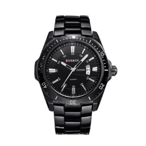 Relógio Masculino Curren Analógico 8110 Preto