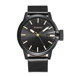 Relógio Masculino Curren Analógico 8208 Preto