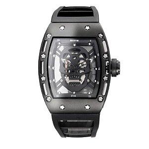 Relógio Masculino Skone Analógico 5146 Preto