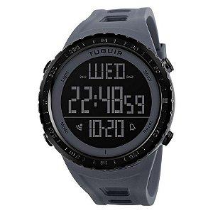 Relógio Masculino Tuguir Digital TG1246 Cinza