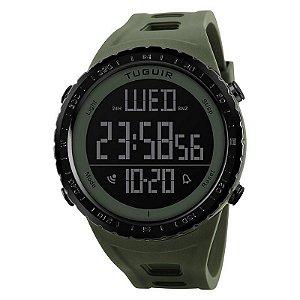 Relógio Masculino Tuguir Digital TG1246 Verde