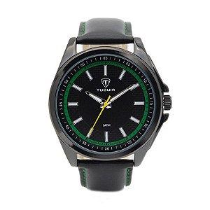 Relógio Masculino Tuguir Analógico 5044 - Preto e Verde
