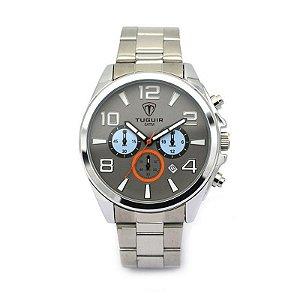 Relógio Masculino Tuguir Analógico 5048 Prata