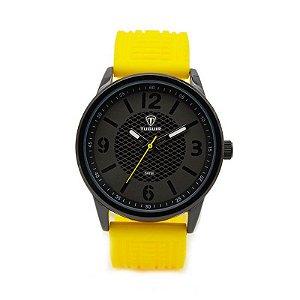 Relógio Masculino Tuguir Analógico 5053 - Amarelo e Preto