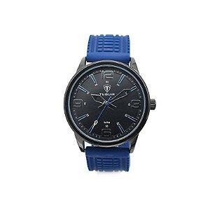 Relógio Masculino Tuguir Analógico 5054 - Azul e Preto