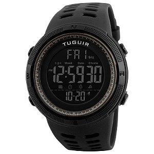 Relógio Masculino Tuguir Digital TG1251 Preto