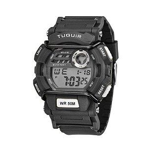Relógio Masculino Tuguir Digital TG6002 Preto