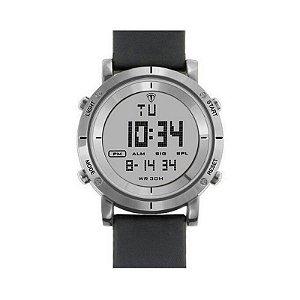Relógio Masculino Tuguir Digital TG6017 - Preto e Prata