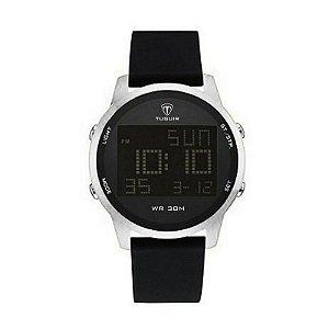 Relógio Masculino Tuguir Digital TG7003 - Preto e Prata