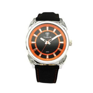 Relógio Masculino Tuguir Analógico 5007 - Preto e Laranja