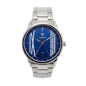 Relógio Masculino Tuguir Analógico 5011 Azul