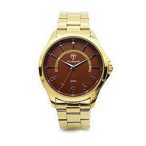 Relógio Masculino Tuguir Analógico 5021 Dourado