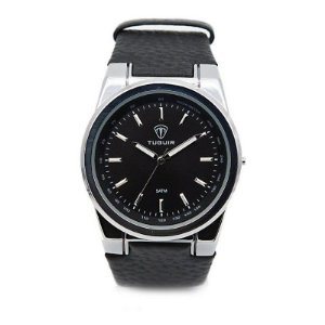 Relógio Masculino Tuguir Analógico 5023 - Preto e Prata