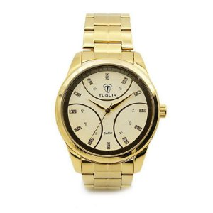 Relógio Feminino Tuguir Analógico 5024 Dourado