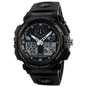 Relógio Masculino Tuguir Anadigi TG1270 Preto