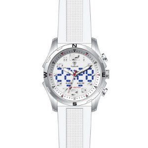 Relógio Masculino Tuguir Anadigi TG2137 Branco