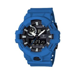 Relógio Masculino Tuguir Anadigi TG6019 Azul