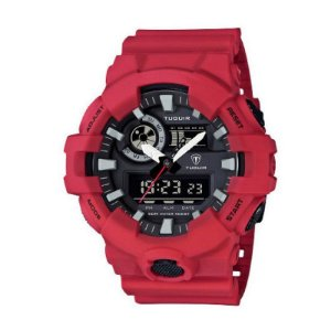 Relógio Masculino Tuguir Anadigi TG6019 Vermelho