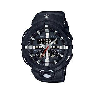 Relógio Masculino Tuguir Anadigi TG7001 Preto