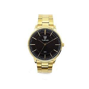 Relógio Masculino Tuguir Analógico 5000 Dourado