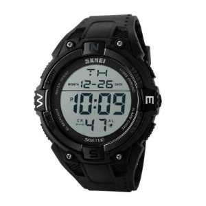 Relógio Masculino Skmei Digital 1140 Preto