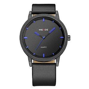 Relógio Masculino Weide Analógico WD001 Preto e Azul