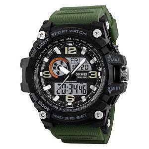 Relógio Masculino Skmei Anadigi 1283 - Verde