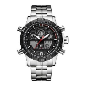 Relógio Masculino Weide Anadigi WH-6901 - Preto