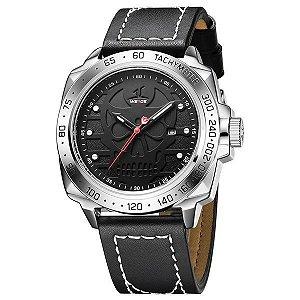 Relógio Masculino Weide Analógico UV-1510 Preto