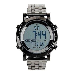 Relógio Masculino Tuguir Metal Digital TG6017 Preto
