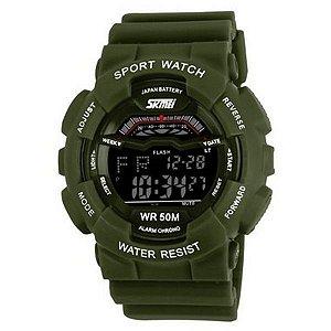 Relógio Masculino Skmei Digital 1012 Verde
